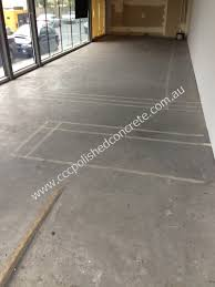 100 The Warehouse Northcote CCC Polished Concrete High Street
