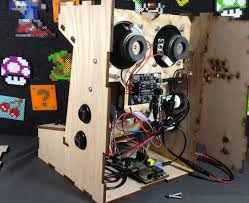 raspberry pi mini games arcade cabinet kit available from 50 video