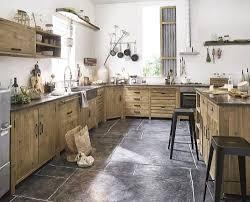 küchenunterschrank mit 6 schubladen aus recyceltem kiefernholz in gealterter optik maisons du monde