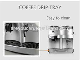 Cappuccino Espresso Coffee Machine Fancy Maker With CE Certification