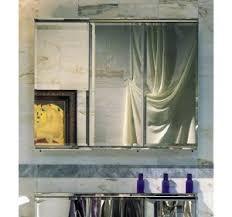 Afina Medicine Cabinet 48 by Framed Triple Door Mirrored Medicine Cabinet Triple Door Medicine