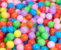 Image Is Loading 5000 Colorful Ball Pit Balls Inflatable Bounce House