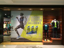 Nike Air Zoom Pegasus 31 Retail Window Display Sports Shoe