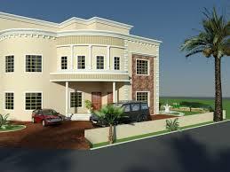 saudi arabia new luxury modern villa 3d front elevation plan