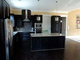 painted kitchen cabinets with dark wood floors quicua com