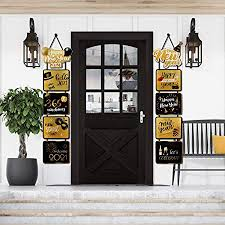 Items Where Year Is 2021 Sayala 2021 Happy New Year Banner New Year S Porch Sign Welcome And Happy New Year 2021 Hanging Sign Merry Bright Banner New Year