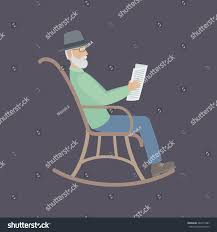 Elderly Man Glasses Beard Sitting Rocking   People ... 39 Of Our Favorite Accent Chairs Under 500 Rules To J16 Rocking Chair Skandium Kirkton House Rocking Chair Vintage Leather Armchair English Wingback Late 20th My Study Spots On Campus Adventures In Admission Opulence By Hal Taylor 10 Best Chairs The Ipdent Best Reading 2019 Gear Patrol Nursing The Feeding For New Mums And Buy Lullaby Goodnight Book Online At Low