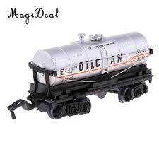100 Toy Tanker Trucks Simulation Train Oil Transport Tank Car Truck Model Diecast