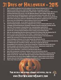 Scary Halloween Scavenger Hunt Riddles by 31 Days Of Halloween 2015