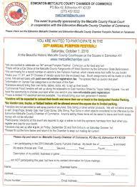 Ohio Pumpkin Festival by 2016 Pumpkin Festival Vendor Application Edmonton Metcalfe