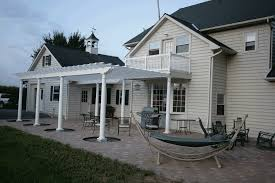 Patio And Deck Combo Ideas by Pergola Plain Design Deck Cover Ideas Stunning About Covered