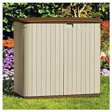 Suncast Horizontal Storage Shed Assembly by Outdoor Horizontal Storage Sheds Quality Plastic Sheds