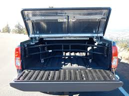 100 Truck Bed Hard Cover On A Nissan Frontier A Rugged Black D Flickr