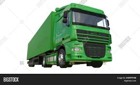 Large Green Truck Image & Photo (Free Trial) | Bigstock