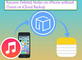 to Recover Deleted Notes on iPhone without iTunes or iCloud Backup