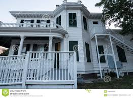 100 The Redding House Old Mansion On Mississippi Gulf Coast Editorial Stock