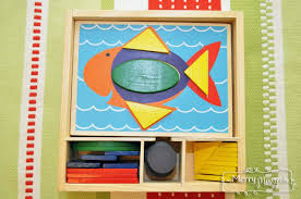 Pattern Block Set From Melissa And Doug