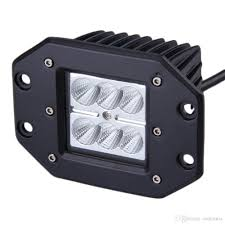 4INCH 18W Square Flood LED Work Light Bar Bumper Off Road TRUCK For ... Led Light Bars For Truck Racks Led Trucking Kasareannaforaco Falcon Flight Emergency 3 Watt Tir Bar 55 In Tow Hightech Lighting Rigid Industries Adapt Recoil Backup Auxiliary Kit Installation Fits All 45w Work Light Truck Working For 4x4 Offroad Round And Trailer Lights 4 Braketurntail W 18 Amazing Strip Ideas Your Next Project Sirse Tktls067 Buy Led 94702 75 36w Offroad Led2520 Lm High Intensity Barspot Grille 200910 Ford F2350 Kc 75040