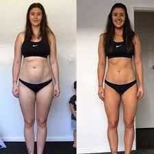 Before And After Postpartum Weight Loss