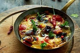 schnelle und leichte küche würziges omelett foodies