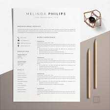 Professional CV Template Word | Resume Template Minimalist | Melinda Cv Template Professional Curriculum Vitae Minimalist Design Ms Word Cover Letter 1 2 And 3 Page Simple Resume Instant Sample Format Awesome Impressive Resume Cv Mplate With Nice Typography Simple Design Vector Free Minimalistic Clean Ps Ai On Behance Alice In Indd Ai 15 Templates Sleek Minimal 4p Ocane Creative