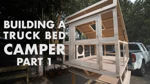Building A Truck Bed Camper - Part 1: The Frame - YouTube