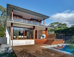 100 Australian Modern House Designs Home With Spotted Gum Wood Details And Pool