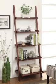 Crate And Barrel Leaning Desk White by Best 25 White Ladder Bookshelf Ideas On Pinterest