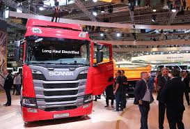 Vans, Buses And Trucks At The German IAA Commercial Vehicles Fair