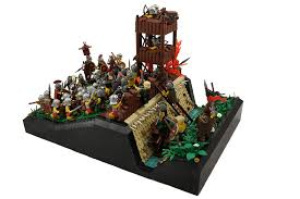 siege lego moc the siege of alesia lego historic themes eurobricks forums