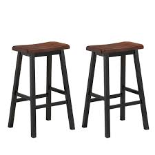 Costway Set Of 2 Bar Stools 29
