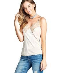 ladies fashion velvet top featuring cami straps a v neckline with