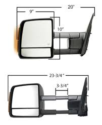 K-Source Custom Extendable Towing Mirror - Electric/Heat W Turn ... Lvadosierracom Tow Mirrors Installed Beforeduring After K Source Snapon Towing Mirrors 80910 Free Shipping On Orders Over Cheap Chrome Find Deals Automotive Shane Burk Glass Mirror Duncan Ok Lawton Ok Side Landcruiser Prado New Tow Rinker Boats Oem A 2017 Issues Page 2 Toyota Tundra Forum Universal Aftermarket Truck Accsories For 9902 Chevy Power Heated Door View 1a Auto Parts 08 Style Review And Installation Pic Post Your Pics Of 1500s With 2014 2018 0513 Tacoma Manual Adjust Telescoping Pair