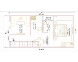 30 X 30 House Floor Plans by 15 U0027 X 30 U0027 Ground Floor Plan Gharexpert
