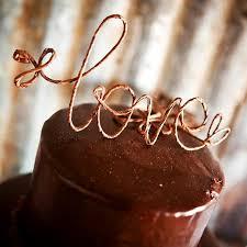 Rustic LOVE Wedding Cake Topper Custom Decoration Cottage Chic DecorationShabby