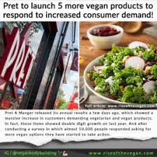 pret cuisine pret launch 5 more vegan products to respond to customer demand