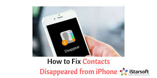 How to Fix Contacts Disappeared from iPhone Issue