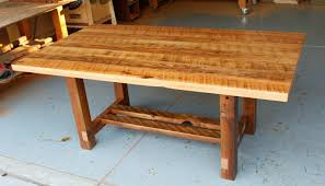 Old Wood Dining Room Table by U0026 Hickory Log Dining Table Rustic Industrial Reclaimed Barn