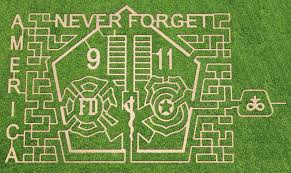 Siegels Pumpkin Farm by Corn Maze Created In Lockport To Remember Sept 11 Attack Daily