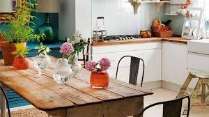 table de cuisine vintage déco cuisine le style rétro et vintage côté maison