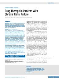 High Ceiling Diuretics Pdf by Drug Therapy In Patients With Chronic Renal Failure 17 09 2010