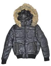 amazon com rocawear womens faux fur trim puffer jacket small