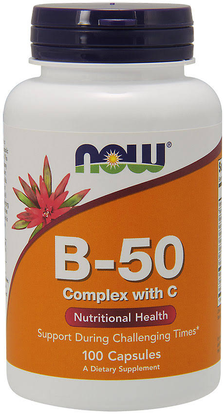 Now Foods Vitamin B50 Dietary Supplement - 250ct
