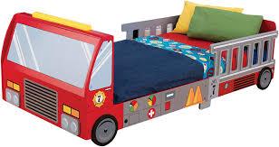 100 Toddler Truck Bedding Amazoncom KidKraft Fire Bed Renewed