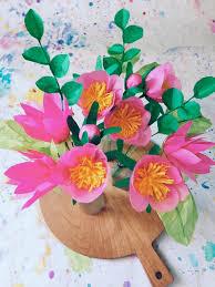 Paper Flower DIY By Kelsey For DesignSponge 2
