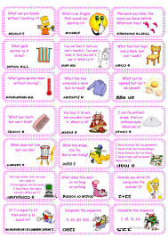 Free Halloween Brain Teasers Printable by 40 Free Esl Brain Worksheets