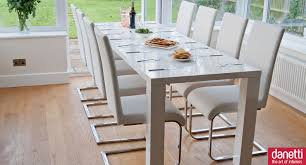 100 White Gloss Extending Dining Table And Chairs Fern And Imola Set In 2019