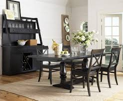 Chairs Black Dining Room Set With Buffet Sets Inspiring s