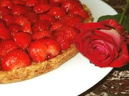 dessert aux fraises facile tarte aux fraises facile et aux amandes la tendresse en cuisine