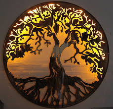 Fetco Home Decor Brinley Wall Art by Tree Of Life Metal Wall Art Decor 101design